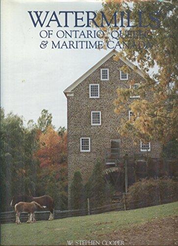9780075495949: Watermills of Ontario, Quebec & maritime Canada