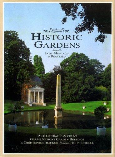 England's Historis Gardens (Spanish Edition): Thacker, Christoper (Foreword: