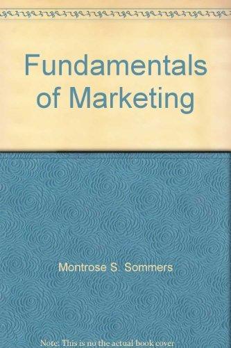 9780075496977: Fundamentals of Marketing