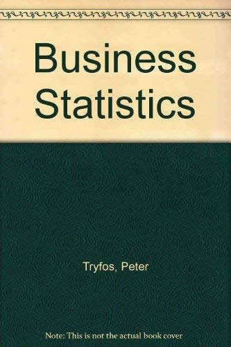 9780075497332: Business Statistics