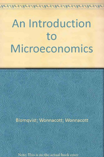 9780075499169: An Introduction to Microeconomics