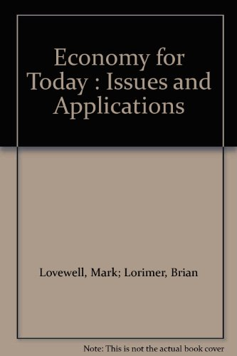 9780075515272: Economy for Today : Issues and Applications