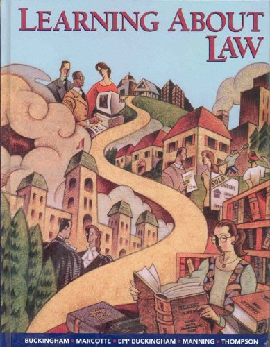 Cover of the book, Learning About Law.
