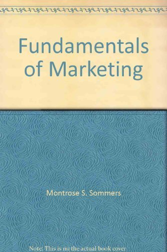9780075525141: Fundamentals of Marketing