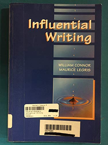 9780075525202: Influential Writing