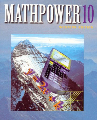 9780075525967: Mathpower 10 (Western Edition)