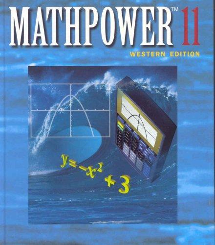 9780075525981: MATHPOWER 11 Western Edition