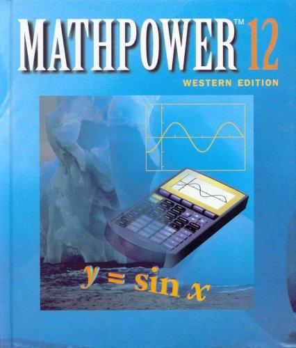 9780075526001: MATHPOWER 12 Western Edition