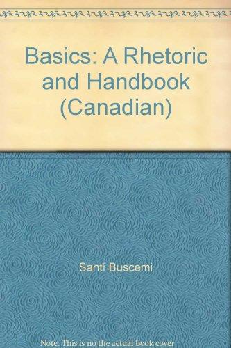 9780075527107: Basics: A Rhetoric and Handbook (Canadian)