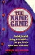 9780075528173: Name Game Football Baseball Hockey and Foo