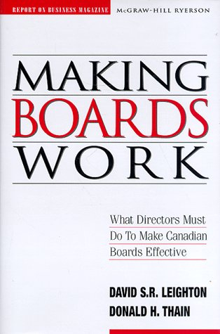 9780075528340: Making Boards Work