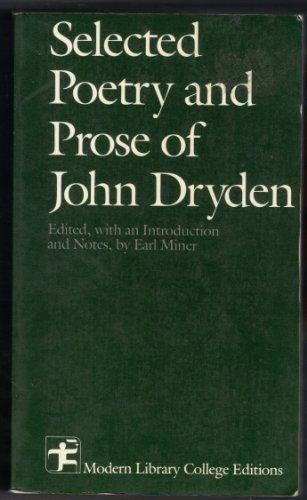 Selected Writings of Dryden: John Dryden