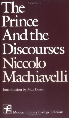 9780075535775: The Prince and The Discourses