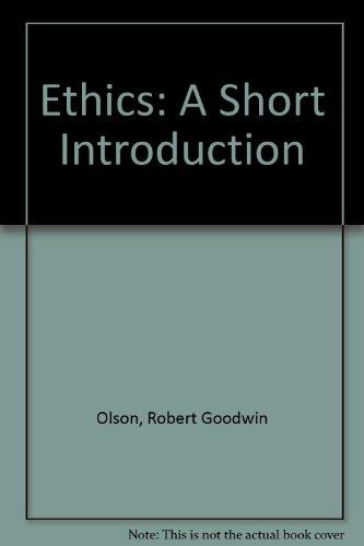 9780075535867: Ethics: A Short Introduction