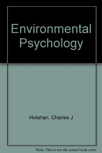 9780075536024: Environmental Psychology