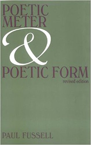 Poetic Meter and Poetic Form (0075536064) by Paul Fussell