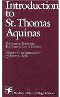 9780075536536: Introduction to St Thomas Aquinas (Modern Library College)
