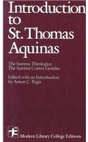 9780075536536: Introduction To Saint Thomas Aquinas