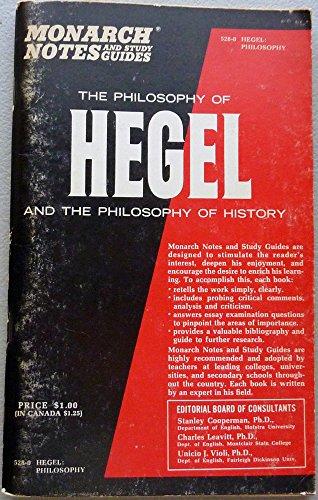 The Philosophy of Hegel: Hegel, Georg (ed,
