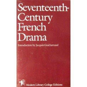 9780075536567: Seventeenth-Century French Drama