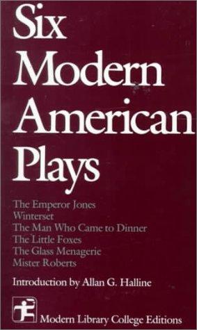 9780075536604: Six Modern American Plays