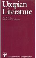 9780075536673: Utopian Literature: a selection