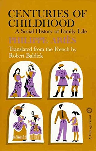 9780075536895: Centuries of Childhood: A Social History of Family Life