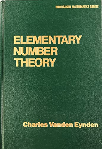 9780075537830: Elementary Number Theory (Random House/Birkhauser Mathematics Series)