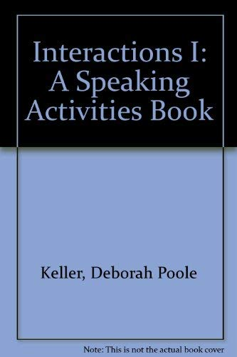 9780075538059: Interactions I: A Speaking Activities Book (Random House ESL Library)