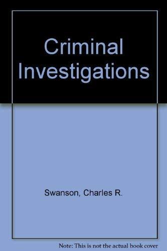9780075541936: Criminal Investigation