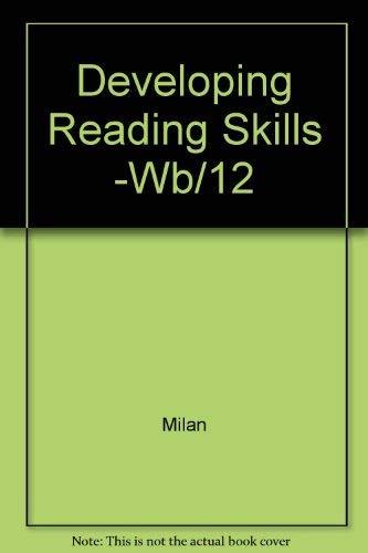 9780075542179: Developing Reading Skills