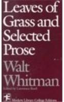 9780075542636: Leaves of Grass and Selected Prose