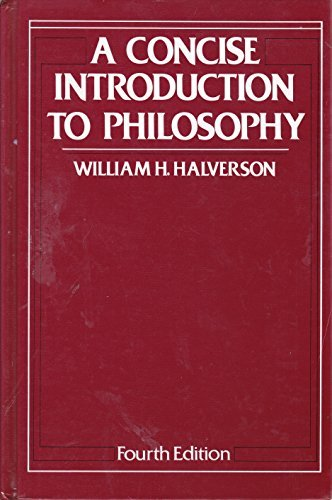 9780075543077: A Concise Introduction To Philosophy