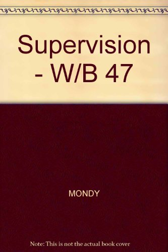 9780075544159: Supervision - W/B 47