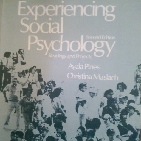 9780075544593: Experiencing Social Psychology: Readings and Projects