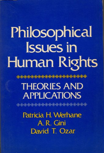 9780075545903: Philosophical Issues in Human Rights: Theories and Applications