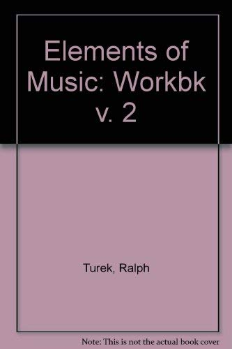 9780075546276: 001: The Elements of Music: Concepts and Applications, Vol. 1