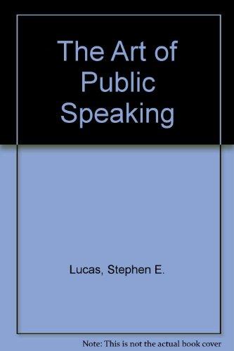 9780075547969: The Art of Public Speaking