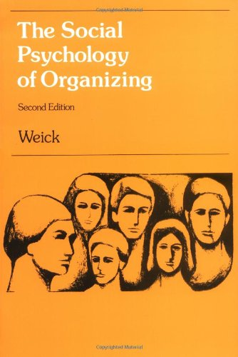 9780075548089: The Social Psychology of Organizing (Topics in Social Psychology Series)