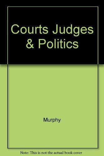 9780075548294: Courts, Judges, and Politics