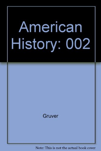9780075548744: An American History