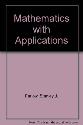 9780075549437: Applied Mathematics: For Management, Life Sciences, and Social Sciences