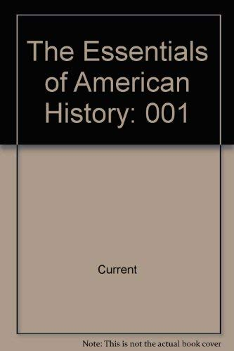 9780075549741: The Essentials of American History: To 1877