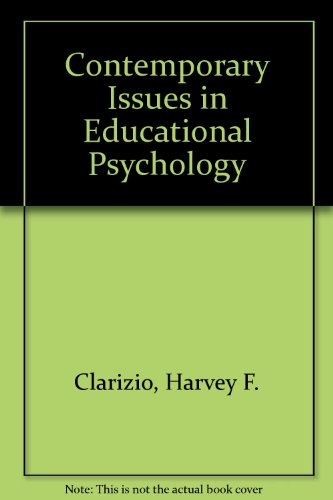 9780075549901: Contemporary Issues in Educational Psychology