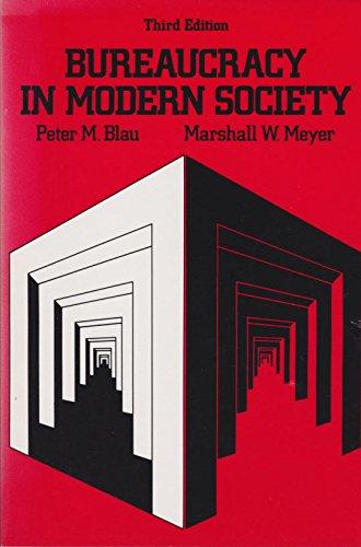 9780075550334: Bureaucracy in Modern Society