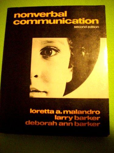 Nonverbal Communication: Malandro, Loretta A.,