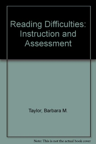 9780075555469: Reading Difficulties: Instruction and Assessment
