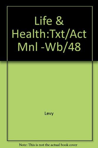 9780075560456: Life & Health:Txt/Act Mnl -Wb/48