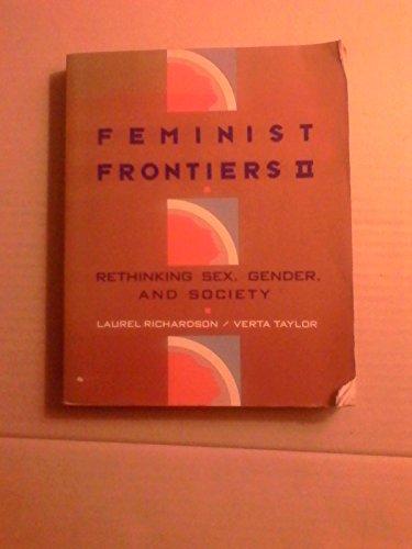 9780075570011: Feminist Frontiers