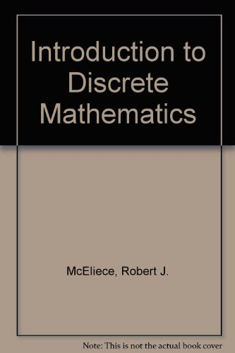 9780075570158: Introduction to Discrete Mathematics
